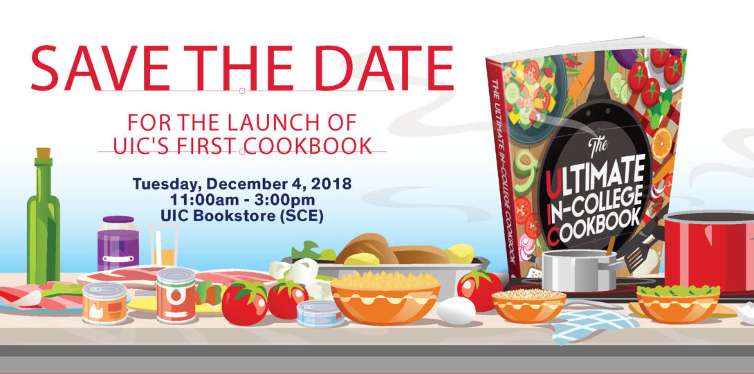"UIC's First Cookbook Launch ""The Ultimate In-College Cookbook"""
