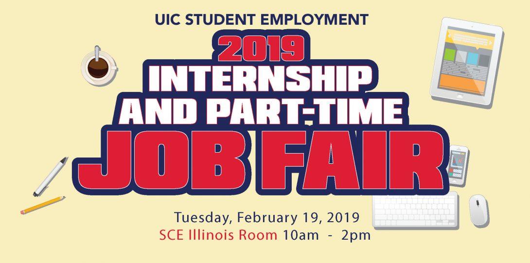 2019 Internship and Part-Time Job Fair
